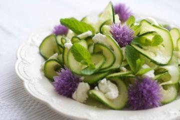 Zucchini Carpaccio - delicioasa.com