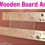 Wooden Board Art