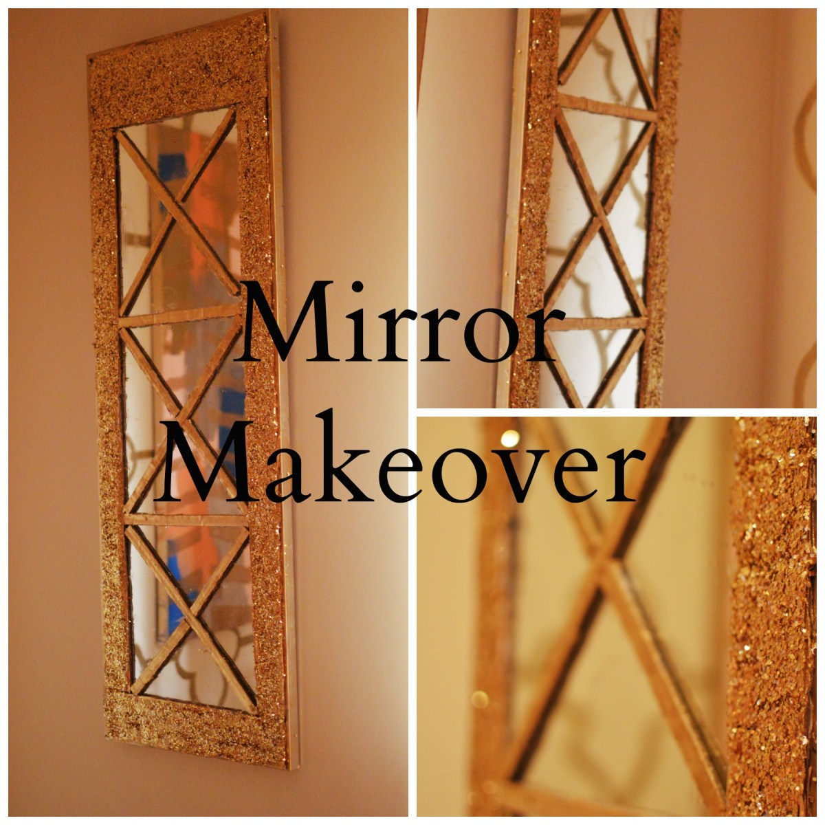 DIY Mirror Makeover