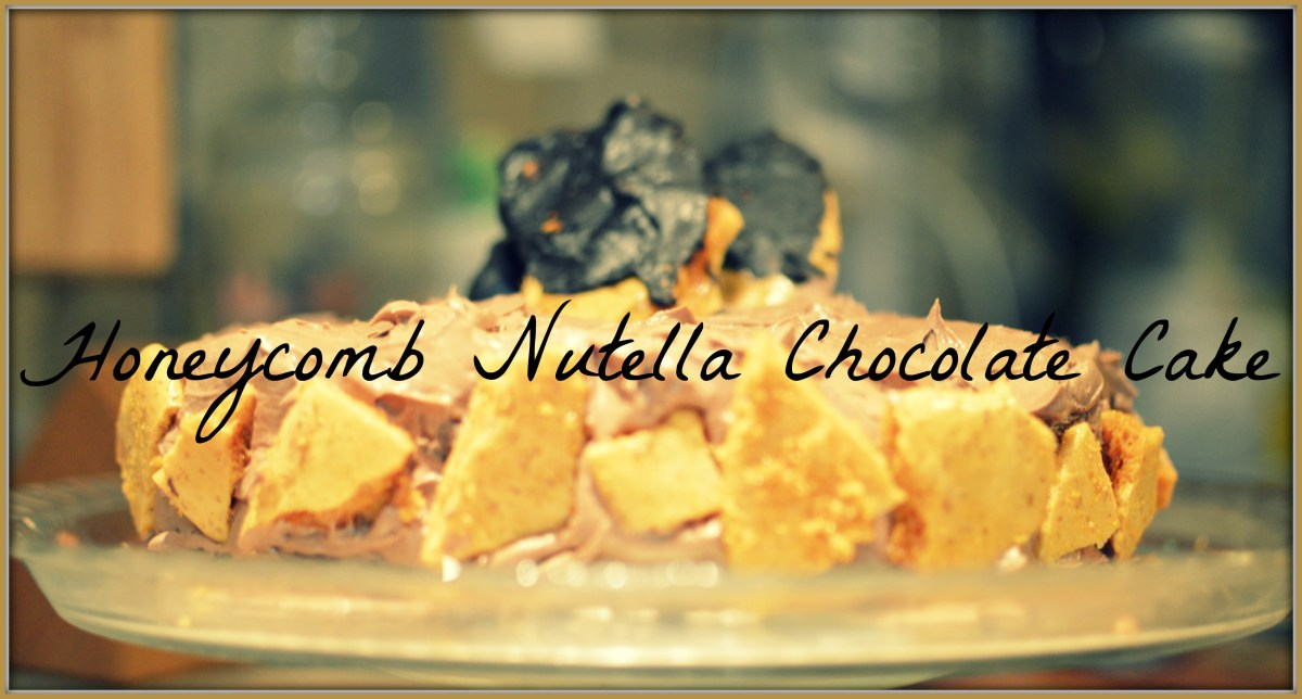 Nutella Honeycomb Chocolate Cake