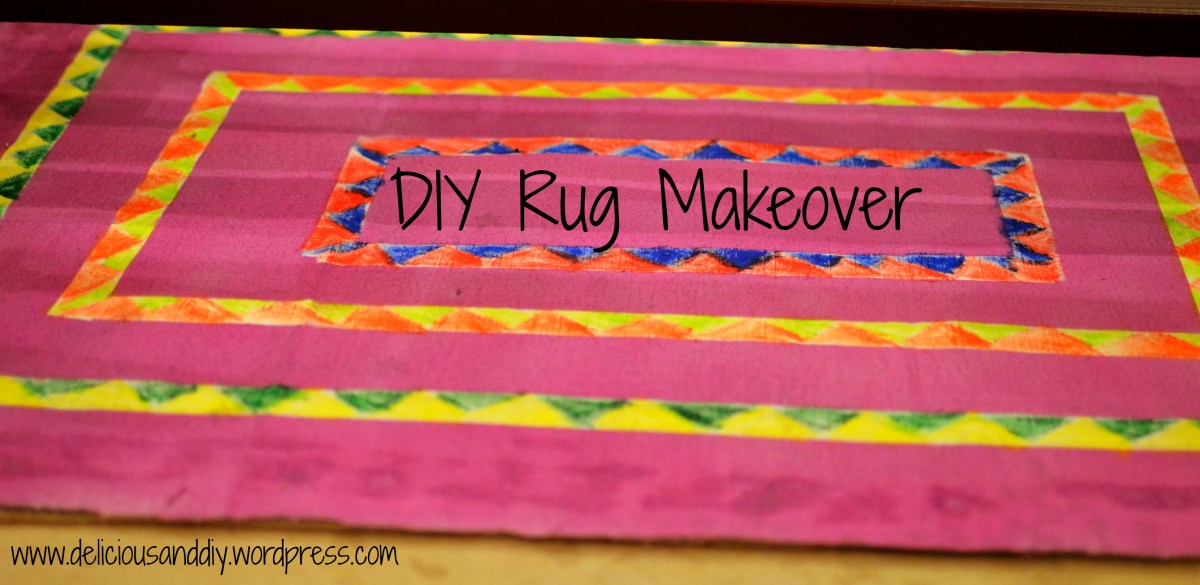 DIY Rug Makeover