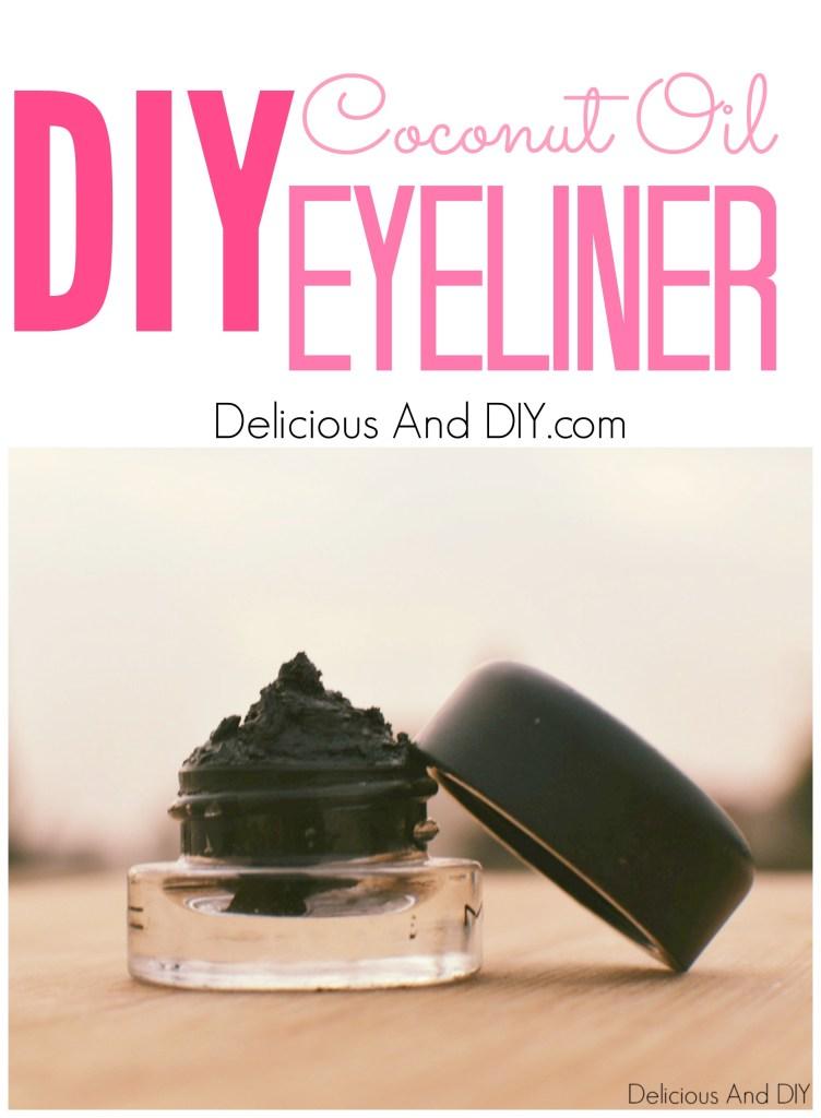 DIY Eyeliner with Coconut Oil
