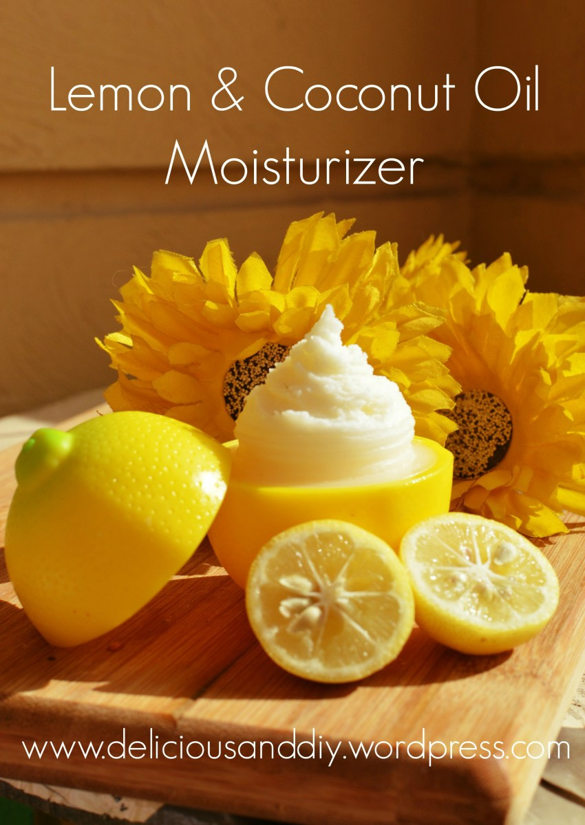 Lemon & Coconut Oil Moisturizer