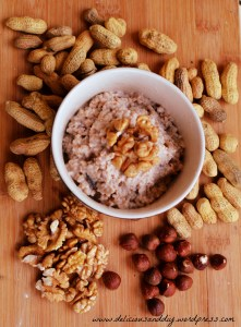 Steel Cut Oats with Dates & Nuts