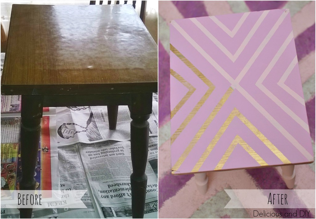Tables Before and After