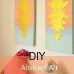 DIY Aztec Wall Art