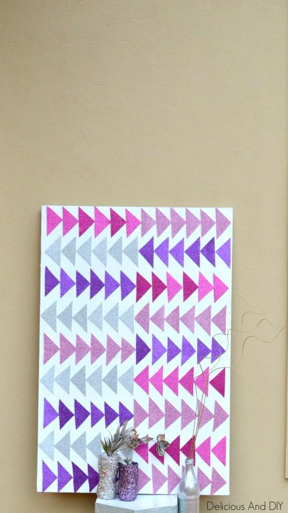 Mod Triangle Wall Art (2)
