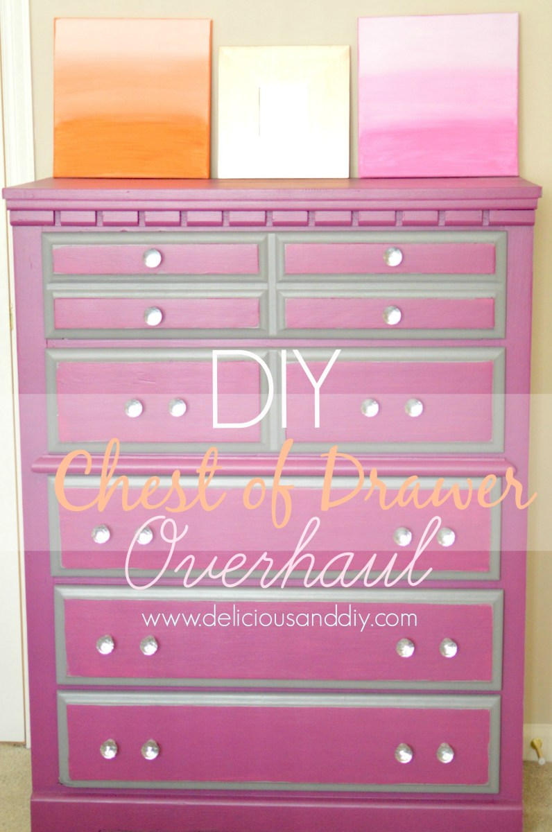 DIY Chest Of Drawer Overhaul