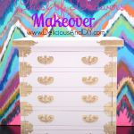 Mini Chest of Drawers Makeover