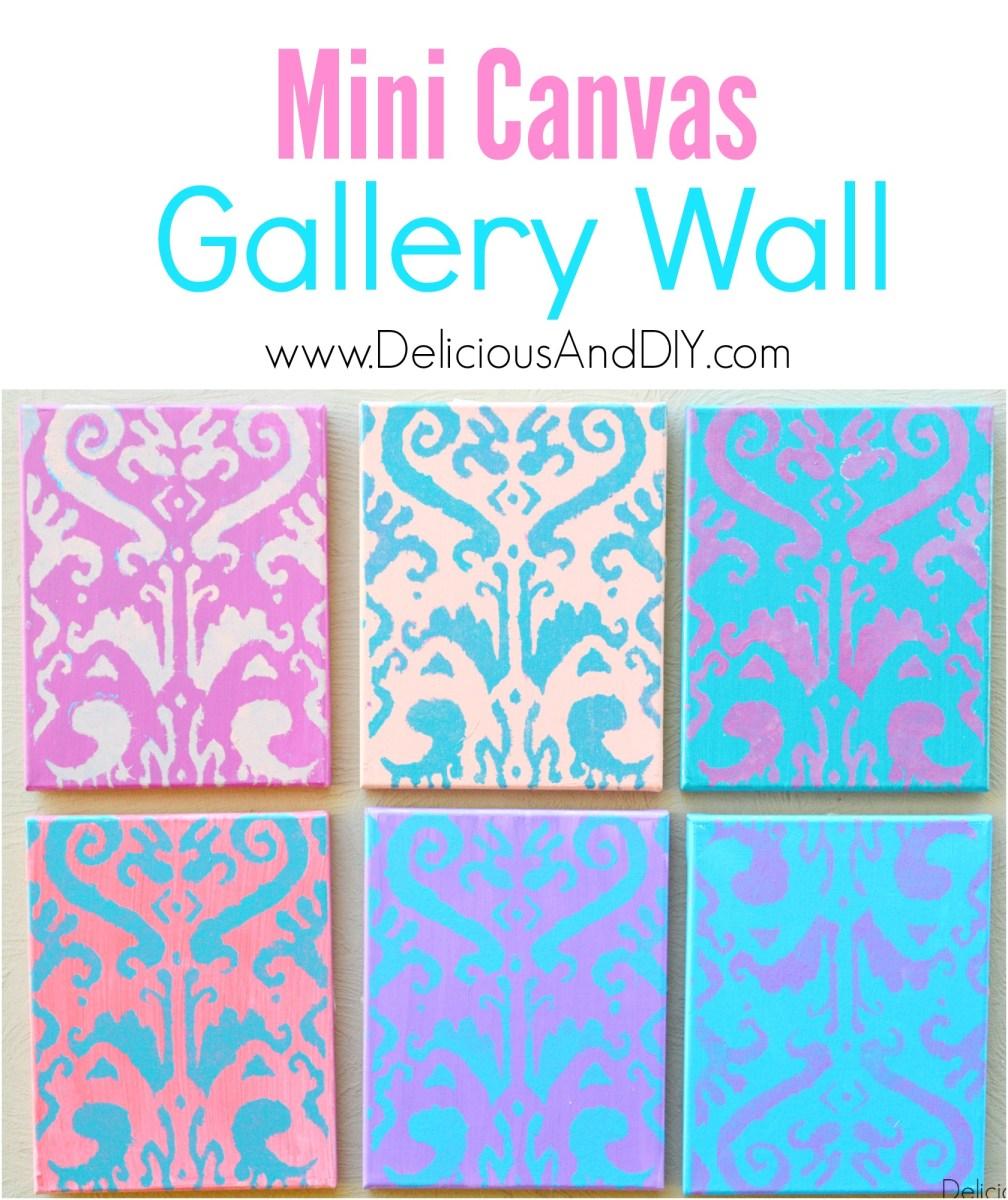 Mini Canvas Gallery Wall