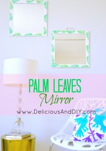 Palm Leaves Mirror