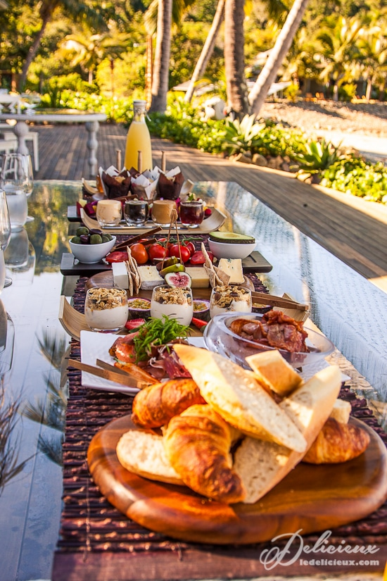Breakfast buffet Paradise Bay Whitsundays Queensland | via deliciouseveryday.com