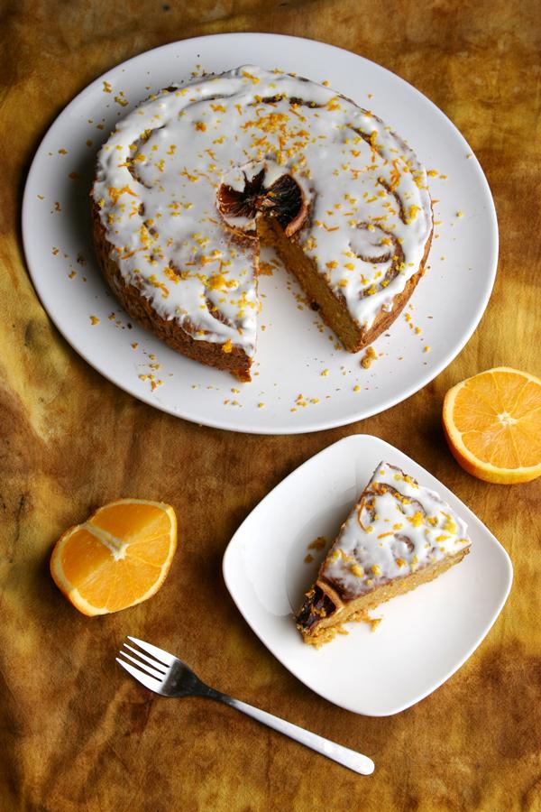Paleo Orange Cream Cake III
