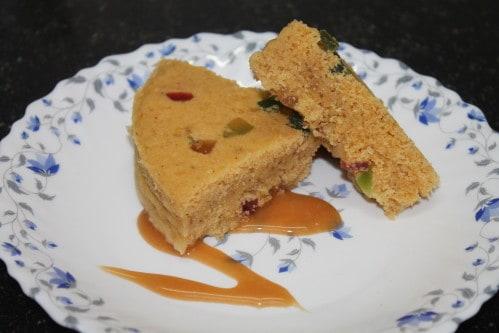 owave Dry fruit Cake recipe