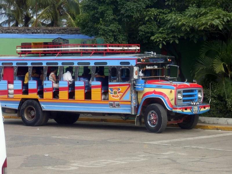 Chiva Kolumbien