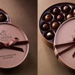 Atractivos envoltorios para chocolate