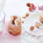 rollos de canela postres pastas fotografía de comida food photography dulces canela blanco azúcar almendras