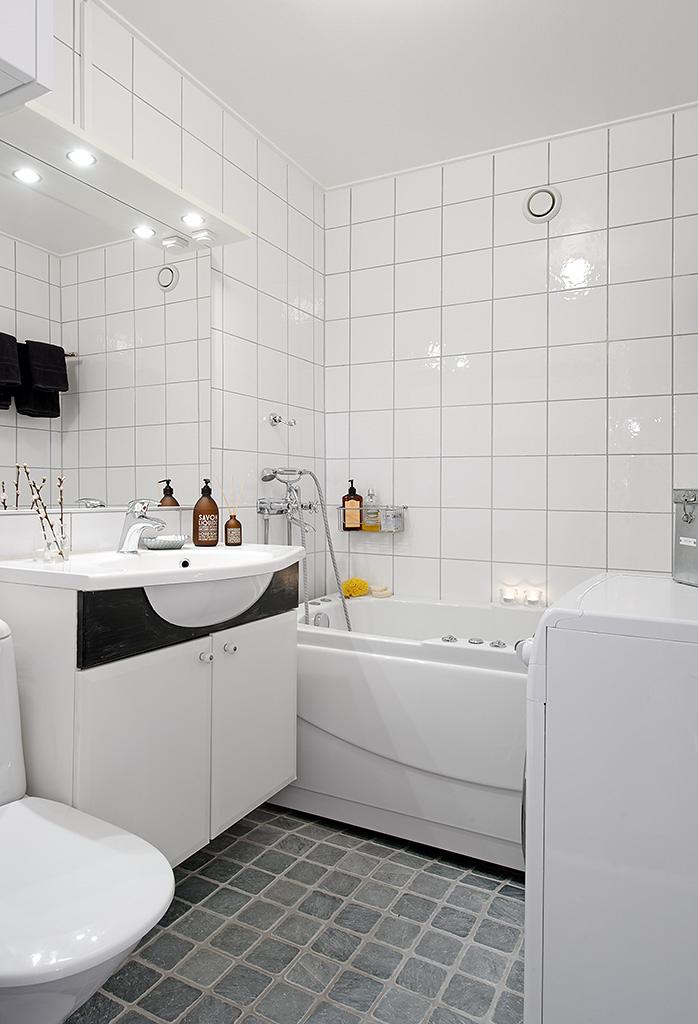 Cuartos de ba o con lavadora blog decoraci n estilo for Bano con lavanderia