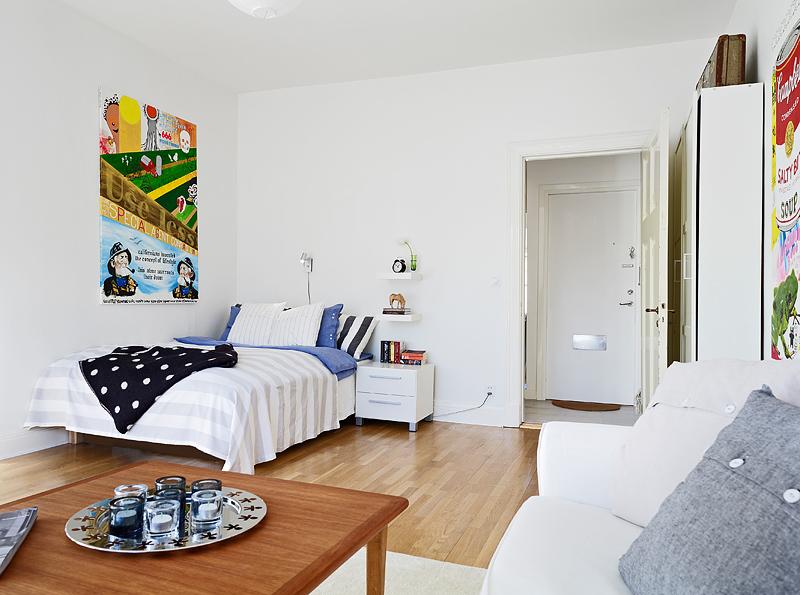 Bonito y acogedor estudio de 37m blog decoraci n estilo for Estudios minimalistas decoracion