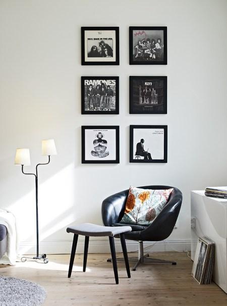 Mueble bajo en el sal n blog decoraci n estilo n rdico - Mueble bajo salon ...