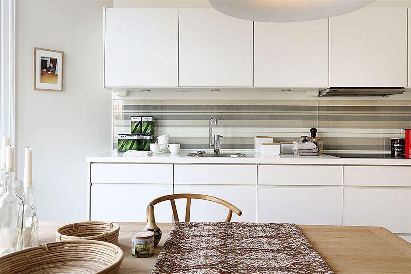Una cocina blanca n rdica blog decoraci n estilo n rdico - Cocinas nordicas ...