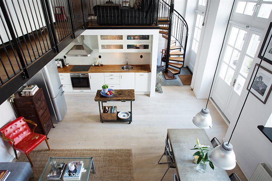 Decoracion Loft Industrial ~ Loft de 67 m? de estilo n?rdico  industrial  Blog decoraci?n