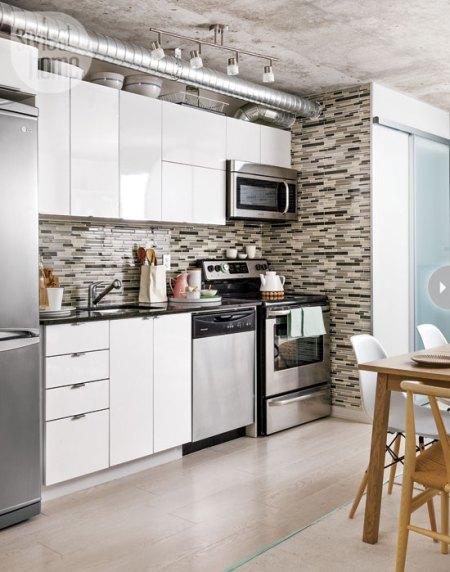 Interiores de pisos peque os delikatissen blog - Muebles pisos pequenos ...