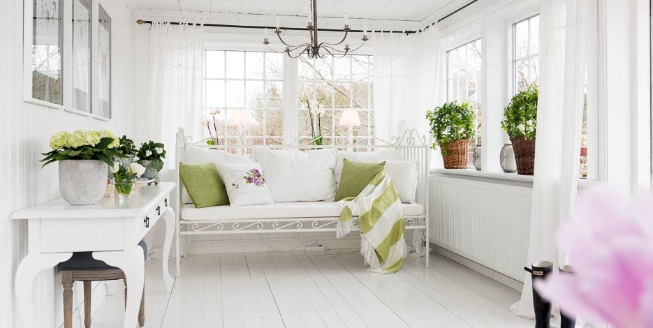 Rom ntico estilo cottage blog decoraci n estilo n rdico - Salones romanticos ...