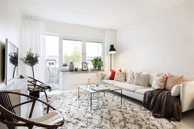 Un apartamento de estilo nor etnic n rdico tnico - Estilo etnico decoracion ...