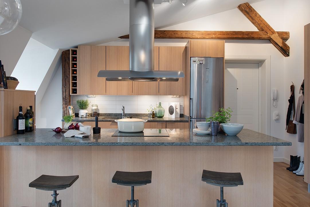 Tico loft sueco con lavander a en el cuarto de ba o for Cuarto lavanderia