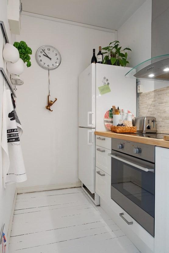 interiores espacios pequeños estilo nórdico escandinavo dormitorio en altillo distribuci