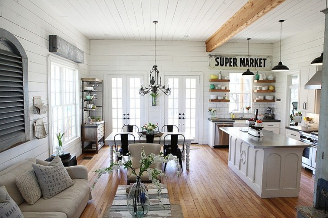 decoracion de interiores rusticos blanco:Farmhouse and Joanna Gaines Chip