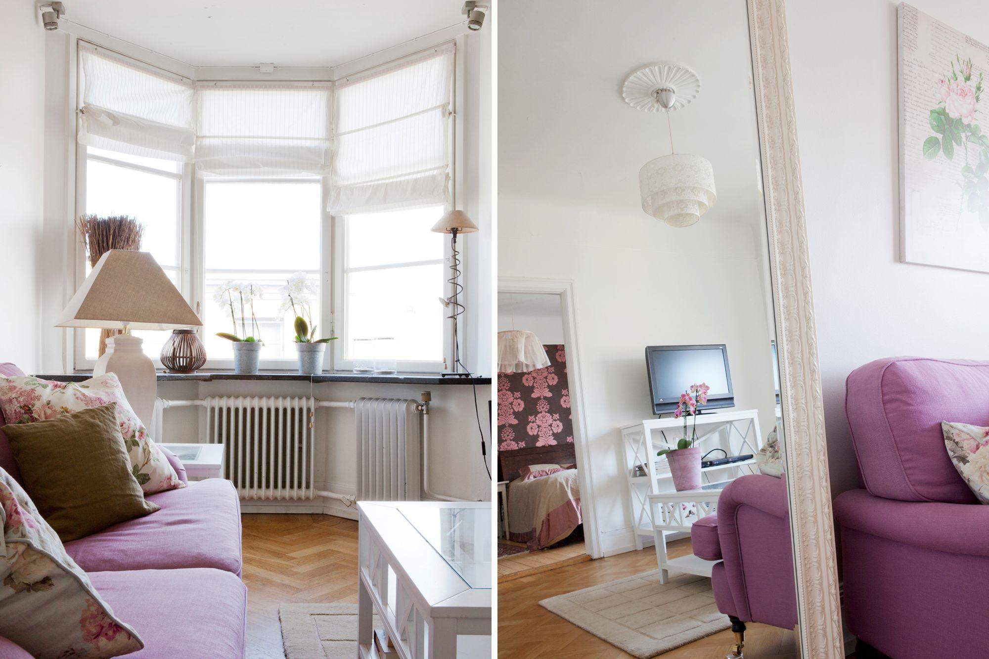 Decoración Baños Femeninos:pequeños mini pisos estilo nórdico estilo decorativo femenino