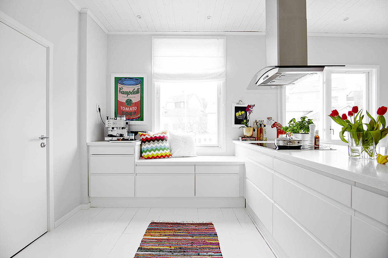 La cocina es lo importante blog decoraci n estilo for Cocinas blancas
