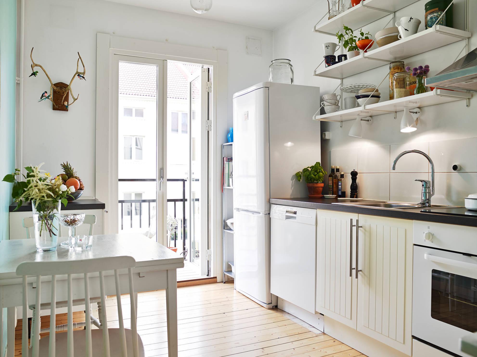 Chill decoraci n un hogar modesto pero acogedor - Muebles modesto ...