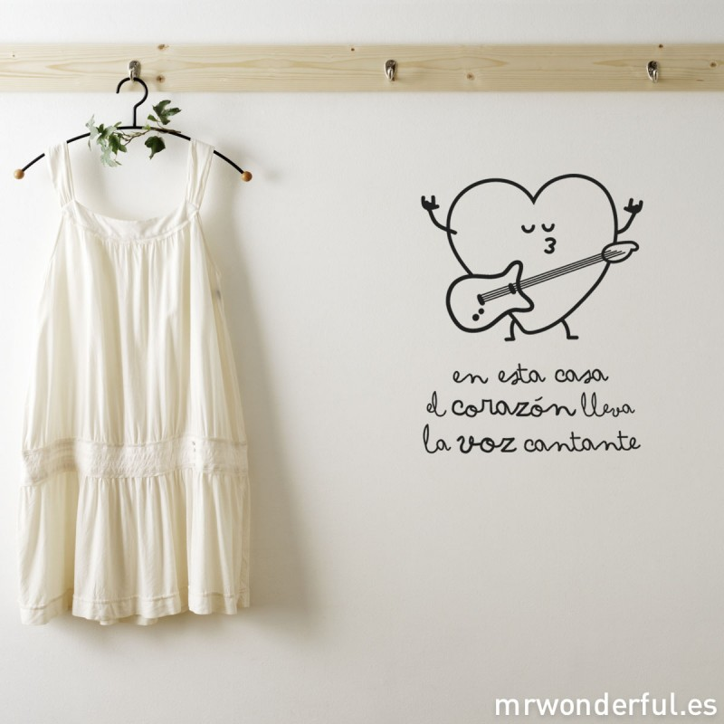 Sorteo vinilo y l mina mr wonderful blog decoraci n - Laminas de pared ...
