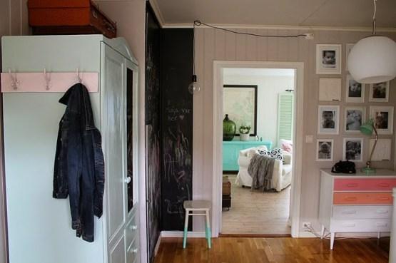 Una casa noruega llena de color decoración nórdica escandinava decoración muchos colores pastel decoración en pasteles decoración dormitorios infantiles decoración de exteriores casa juguete decoració