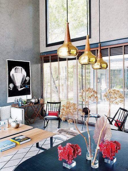 sillas tulip de knoll sillas panton vitra muebles de diseño mecedora balancín eames vitra estilo industrial casas prefabricadas casas de revista Casa prefabricada de hormigón blog decoracion interiores arquitectura minimalista hormigón