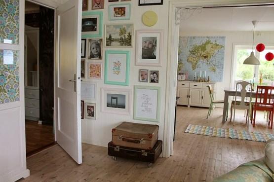 Una casa noruega llena de color decoración nórdica escandinava decoración muchos colores pastel decoración en pasteles decoración dormitorios infantiles decoración de exteriores casa juguete decoración comedores salones blog decoracion interiores
