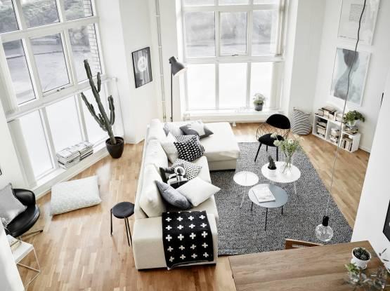 estilo moderno nórdico distribución diáfana decoración y diseño interiores decoración salones decoración pisos pequeños decoración interiores nórdicos decoración diáfana cocinas modernas pequeñas blog decoración nórdica