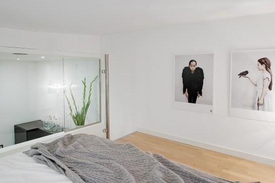 lofts de estilo nórdico estilo escandinavo dormitorio en altillo decoraci�