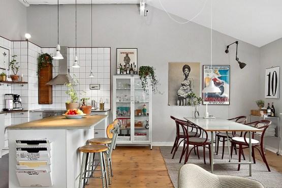 vintage interiores espacios pequeños estilo y diseño nórdico escandinavo estilo nórdico estilo industrial El toque industrial   vintage decoración interiores decoración comedores cocinas industriales blog estilo nordico escandinavo