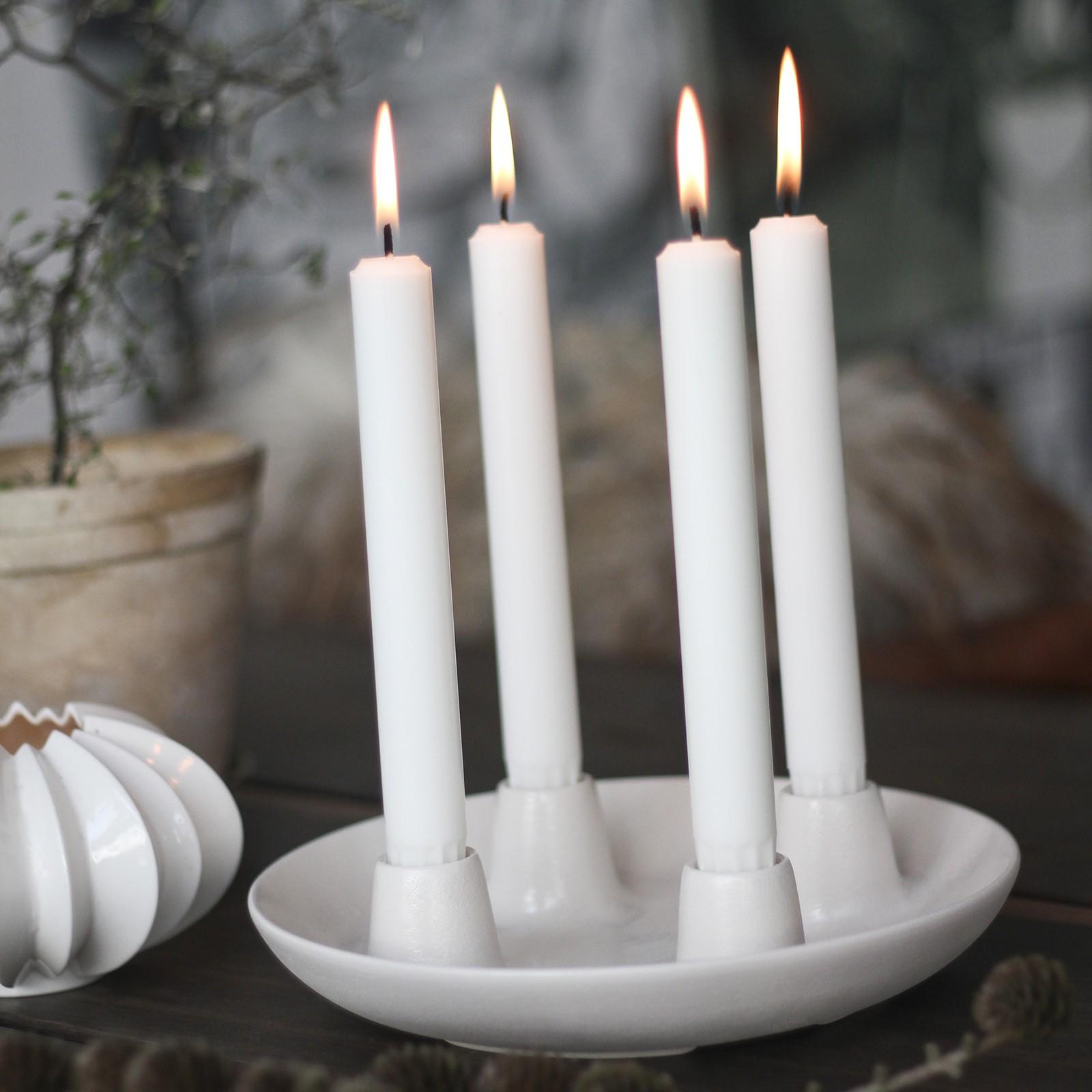 Velas de navidad centros de adviento y velas calendario blog decoraci n estilo n rdico - Velas adviento ...