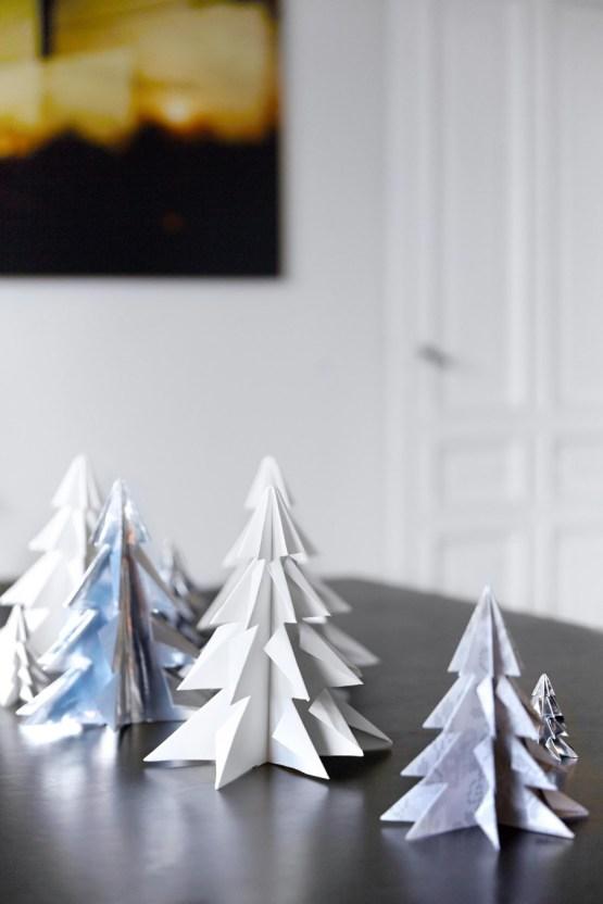 estilo nórdico escandinavo El toque navideño nórdico en grises decoración nórdica navideña decoración navideña decoración en grises y azules decoración comedores navidad casas nórdicas navidad adornos navidad gris y blanco adornos navidad diy