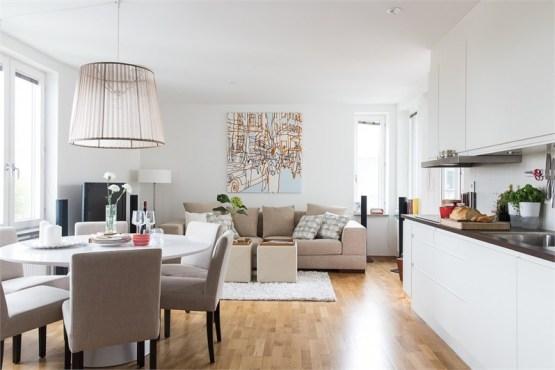 estilo nórdico minipisos distribución pisos pequeños distribución diáfana decoración tonos naturales decoración pisos pequeños decoración nórdica diáfana blog estilo nórdico 49 m² compactos con estilo