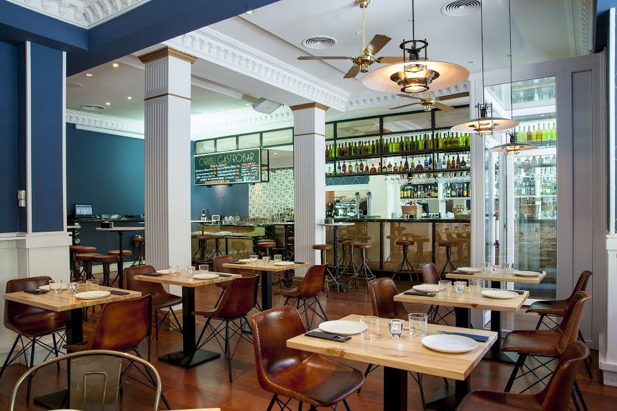 Orib gastrobar madrid blog decoraci n estilo n rdico - Decoracion bares modernos ...