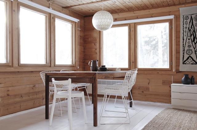 Casa De Madera De Vacaciones En Finlandia Blog