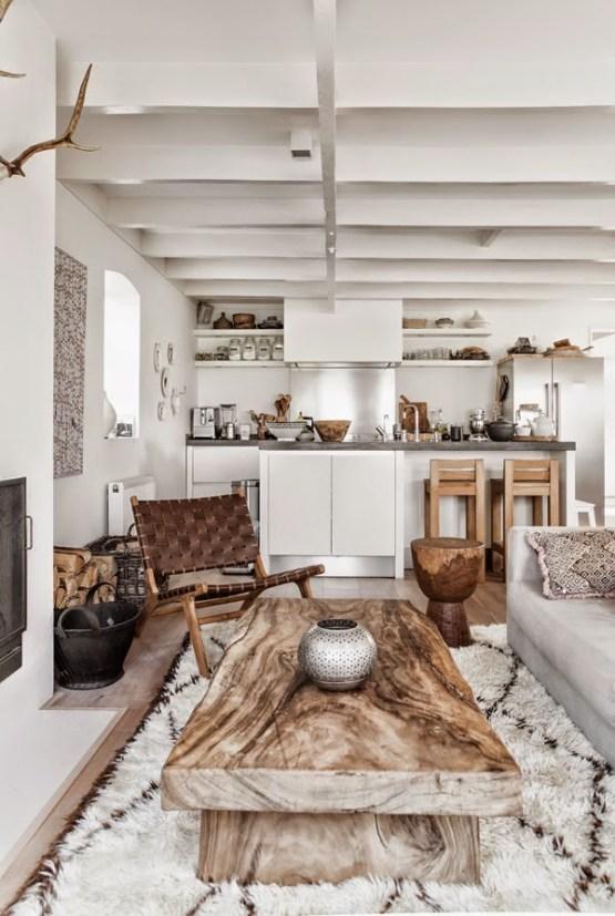 blanco madera natural y estampados tnicos blog