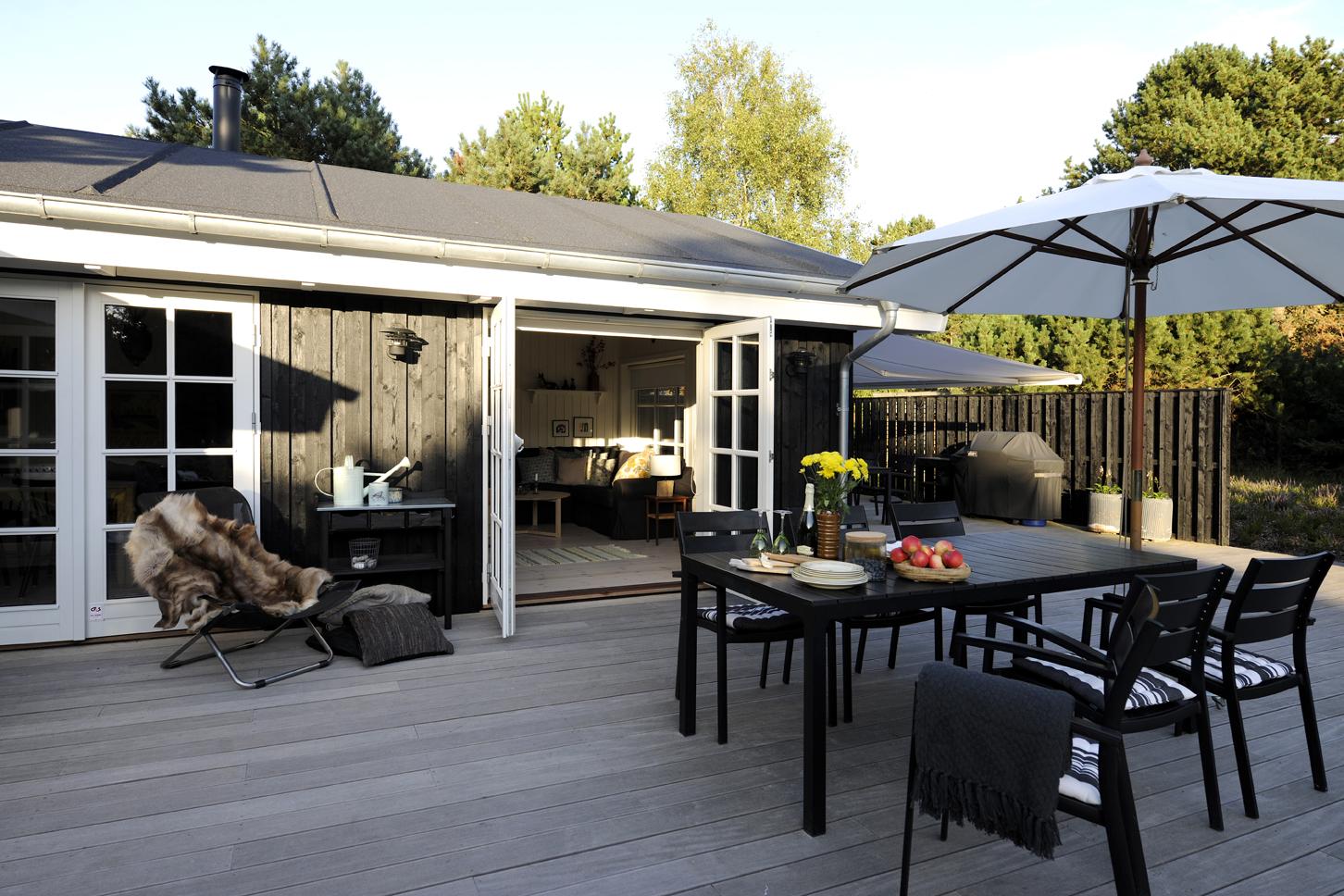 Luminoso interior de una casa de verano danesa blog - Casas de estilo nordico ...