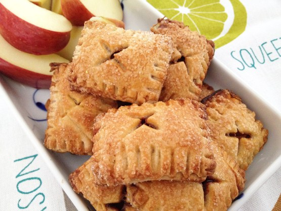 Galletas de apple pie (rellenas de manzana)